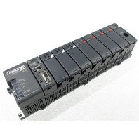 * AUTOMATION DIRECT PLC DIRECT LOGIC 205 D2-09B-1 SLOT RACK DL-250-1 F2-08AD-1 D2-08TR