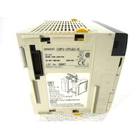 * OMRON CQM1-CPU21-E SYSMAC PROGRAMMABLE CONTROLLER CPU MODULE 3.2K WORD RS232 10MA 24VDC 16POINT