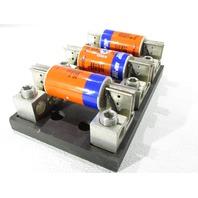 * FERRAZ SHAWMUT 62003J FUSE BLOCK w/ AJT175 SMART SPOT AMP TRAP FUSES