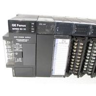* GE SERIES 90-30 RACK IC693CHS391G BASE 10-SLOT IC693CPU331T IC693MDL940H IC693MDL930