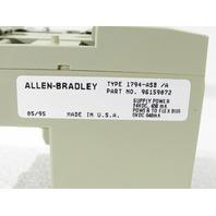 * ALLEN BRADLEY 1794-ASB/A 24VDC REMOTE I/O ADAPTER
