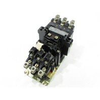 * ALLEN BRADLEY 520F-COB STARTER MULTI SPEED 600V AC MAX