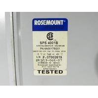 * ROSEMOUNT SPS 4001B SINGLE PROBE AUTOCALIBRATION SEQUENCER
