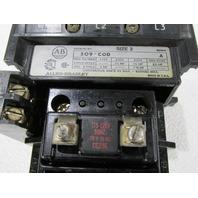 * ALLEN BRADLEY 509-COD SIZE 2 MOTOR STARTER COIL 115-120 VAC 25 HP 45 AMP MAX