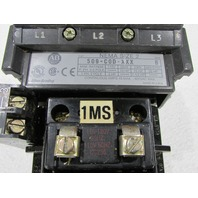 * ALLEN BRADLEY 509-COD-XXX STARTER FULL VOLTAGE SIZE 2 110/120VAC COIL 45AMP 600VAC