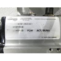 * NEW FLOWSERVE AUTOMAX ACTUATOR B085S10 W/ F300 BALL VALVE