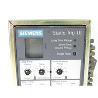 * SIEMENS RMS-TSIG-TZ-C STATIC TRIP III