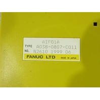 * FANUC A03B-0807-C011 I/O INTERFACE MODULE