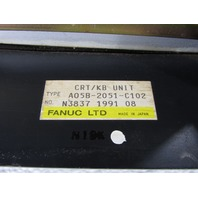 * FANUC A05B-2051-C102 CRT/KB TERMINAL UNIT