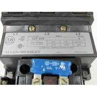 * ALLEN BRADLEY 509-DOD SIZE 3 STARTER COIL 115-120 VAC w/ (1) 595-A