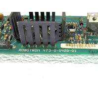 * ROBOTRON 473-0-0420-01 BOARD