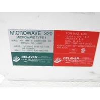 DELAVAN ELECTRONICS 1BMM MICROWAVE 320 TYPE 1 RELAY