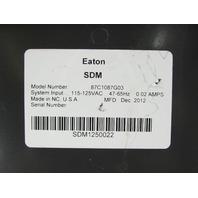 EATON CUTLER HAMMER AMPGARDXP3 87C1087G03 SDM STARTER DISPLAY MODULE