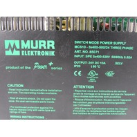 MURR ELEKTRONIK MCS10 SWITCH MODE POWER SUPPLY