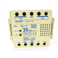 * IDEC PS5R-C24 POWER SUPPLY 30W 24VDC DIN