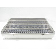 * STAINLESS STEEL SURGICAL INSTRUMENT STERILIZATION CASE 15 x 10-1/2 x 2-1/2""