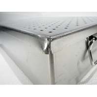 * OMNI-TRACT SURGICAL 3424 PAN & LID STERILIZATION CASE TRAY