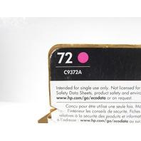 NEW HP 72 DESIGNJET  C9372A MAGENTA  COLOR INKJET CARTRIDGE