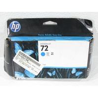 NEW HP 72 DESIGNJET   C9371A CYAN  COLOR INKJET CARTRIDGE