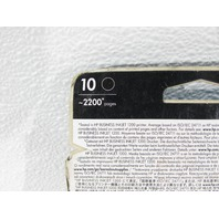NEW HP 10 DESIGNJET 2200 BLACK COLOR INKJET CARTRIDGE