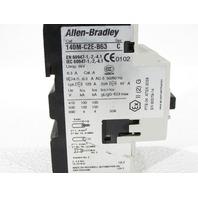 LOY OF (2) ALLEN BRADLEY 140M-C2E-B63 STARTER MOTOR PROTECTOR
