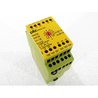 PILZ PNOZ-XV2-30/24VDC-2N/O-2N/O-T SAFETY RELAY