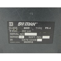 * SQUARE D SY/MAX MODEL 50 8005 TYPE PR-4 PROGRAMMER