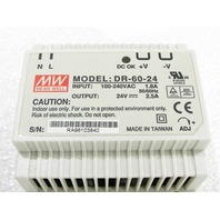 * MEAN WELL DR-60-24 24V 60W POWER SUPPLY