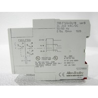 ALLEN BRADLEY 700-FSQ4QU18 HIGH PERF OFF-DELAY DPDT TIME RELAY