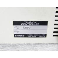 * NIRECO TC800 YE4700.0-69 TENSION CONTROLLER