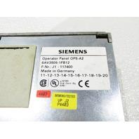 SEIMENS 6AV3505-1FB12 COROS OP5-A2 OPERATOR PANEL