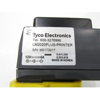 TYCO ELECTRONICS LM2020PLUS HAND HELD LABEL PRINTER