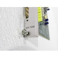 SIEMENS TEXAS INSTRUMENTS PLC 505-7038  MODULE RESIST TEMP DETECT (RTD) 505 8IN