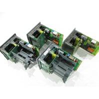 LOT OF 4 EUROTHERM 2404 2404/V4/VH/TM/VS/WP/RF/XX/YM/M6/ENG/AS254 TEMPERATURE CONTROLLER