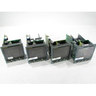LOT OF 4 EUROTHERM 2404 2404/V4/VH/TM/VS/WP/RF/XX/YM/M6/ENG/AS254 TEMPERATURE CONTROLLER