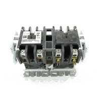 CUTLER HAMMER C65DNF240 OPEN REV 2P 40A DP CONT BOX LUG W/C320KG3 AUXILIARY CONTACT