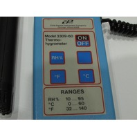 COLE PARMER 3309-60 THERMO-HYGROMETER METER
