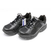 * NEW DREW 40805-19 MEN'S WALKING SHOES 12 6E LIGHTNING II BLACK COMBO