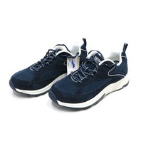 * NEW DREW AARON 40893-4V NAVY MESH LACEUP ORTHOTIC ATHLETIC SHOE SNEAKERS 8