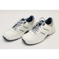 * NEW ORTHOFEET PACIFIC PALISADES WHITE 9.5 M MENS BIOFIT SNEAKERS