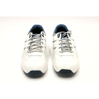 * NEW ORTHOFEET PACIFIC PALISADES WHITE 9 W MENS BIOFIT SNEAKERS