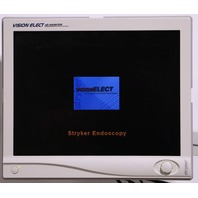 "* STRYKER ENDOSCOPY 240-030-930 VISIONELECT 21"" FLAT PANEL MONITOR"