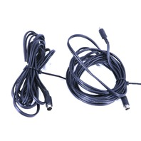 * LOT OF (2) MOGAMI VW-1 2552 AWM DIGITAL AUDIO 12 Ft. CABLES ENDOSCOPY