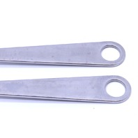 * LOT OF (2) AESCULAP FK166R ORTHOPEDIC SPINE HOHMANN BONE LEVER