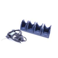 DATALOGIC DL-SKORPIO 94A151112 ETHERNET DESK MULTI CRADLE w/ AC POWER ADAPTER