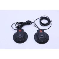 LOT OF (2) POLYCOM SOUNDSTATION 2 EXTENDED MICROPHONE 2201-07155-005 CONFERENCE SPEAKER