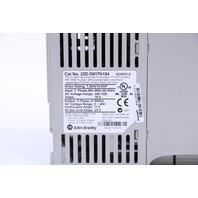 ALLEN BRADLEY 22D-D017N104 DRIVE 10HP 7.5KW 17AMP 480VAC 3PHASE POWERFLEX40P