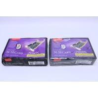NEW QTY. (1) ADAPTEC 29160N SCSI CARD 1835000