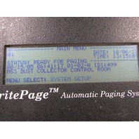 BRITEPAGE AUTOMATIC PAGING SYSTEM