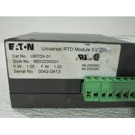 EATON  CUTLER HAMMER URTDII-01 UNIVERSAL RTD MODULE
